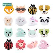 Baby Teether Malaysia - <b>BOPOOBO</b> BPA Free <b>Silicone</b> Mini ...
