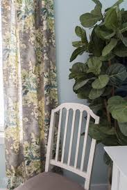 Hidden Tab Curtains How To Make Hidden Tab Drapes Video One Room Challenge Week 3