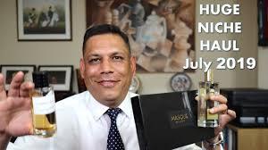 Huge Niche Fragrance Haul July 2019 Episode # 195 - YouTube