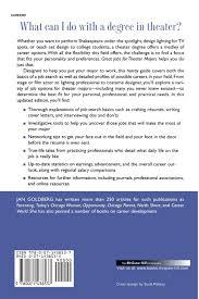 great jobs for theater majors second edition great jobs for acirc  great jobs for theater majors second edition great jobs foracirc brvbar series jan goldberg 9780071438537 com books