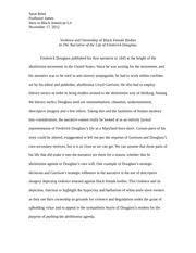 fredrick douglass essay   Igal ipnodns ru