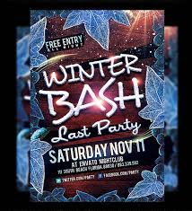 50 amazing christmas and new year s eve flyers for the holiday season winter party flyer template