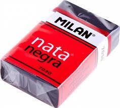 """<b>Milan Ластик пластиковый</b> """"<b>Milan</b> 7030"""", мягкий, черный в ..."""