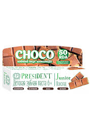 Kids' choice - PRESIDENT Junior Choco 6-12 <b>зубная паста со</b> ...