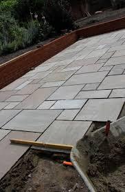 patio slab sets: raj green sandstone patio paving slabs