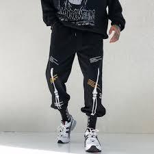 New Black Cargo Pants Hip Hop <b>Boys</b> Multi-pocket Elastic Waist ...