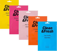 <b>Тканевая маска Eunyul</b> Clean and Fresh Sheet Mask-Firm/Nourish ...