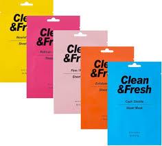 Тканевая <b>маска Eunyul</b> Clean and Fresh Sheet Mask-Firm/Nourish ...