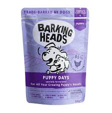 "Влажный корм <b>Barking Heads</b> для для щенков ""<b>Щенячьи</b> деньки ..."