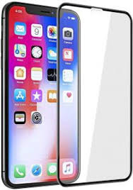 <b>9D</b> Tempered Glass <b>Screen Protector For</b> Apple Iphone XR_Black ...