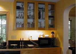 kitchen cabinets glass doors design style: cheap kitchen finish featuring transparent cabinet doors