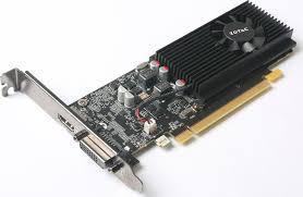 <b>Видеокарта Zotac</b> GeForce <b>GT 1030</b> Low Profile 2GB, ZT-P10300A ...