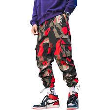 2019 New <b>Streetwear</b> Joggers <b>Men</b> Army Harem <b>Pants</b> Multi pocket ...