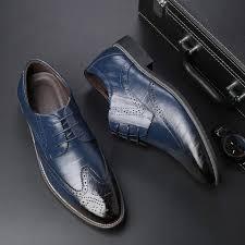Online Shop SZSGCN428-<b>2019</b> New <b>Men</b> Oxford Genuine <b>Leather</b> ...