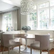 pillar dining table pale