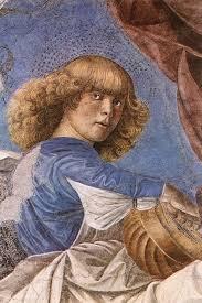 Risultati immagini per melozzo da forlì angeli musicanti