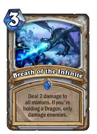 <b>Breath of the Infinite</b> - Hearthstone Wiki