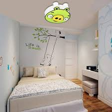 green cartoon pig kids room ceiling lamps cute led boy girl room ceiling lamp baby room baby room lighting ceiling