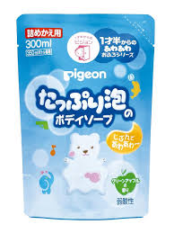 <b>Мыло</b>-<b>пенка</b> для детей 18+ мес, <b>сменный блок</b>, 300мл PIGEON ...