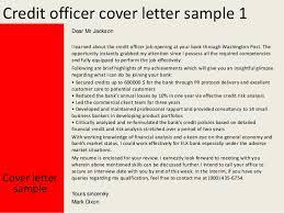 Cover Letter For Bank Officer Job