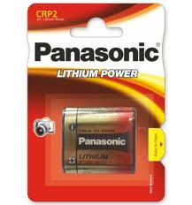 Купить <b>батарейки</b> литиевые Panasonic <b>CRP2</b> в Калининграде