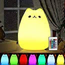 Cute Night Light for Kids, Makion Bear Remote ... - Amazon.com