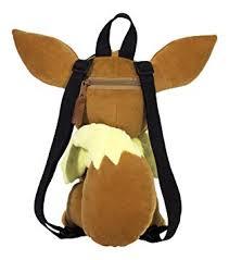 Pokémon Eevee Plush 15 inch Backpack, Brown - Amazon.com