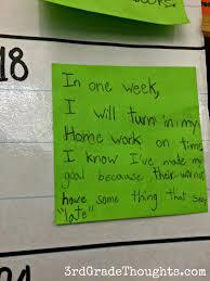 working on weekly class smart goals rd grade thoughts working on weekly class smart goals