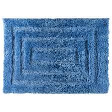 <b>Коврик для ванной комнаты</b> Grampus 45х65 см цвет синий в ...
