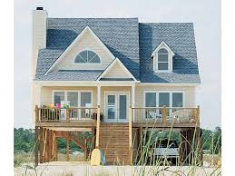 Beach House Plans at Dream Home Source   Beautiful Beach Front Homes