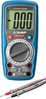 Купить <b>Мультиметр ЗУБР PRO</b>-<b>815</b>-Т в интернет-магазине ...