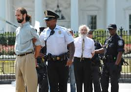 the inside story of the campaign that killed keystone xl vox police arrest protesters demonstrating infront of the white house on 24 2011 in washington