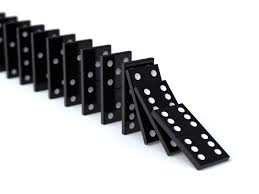 Image result for dominoes falling