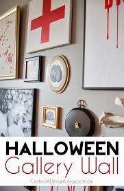 halloween gallery wall decor hallowen walljpg halloween gallery wall halloween gallery wall cuckoodesign halloween gallery wall