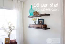 southern revivals cheap easy diy floating shelves build floating shelves