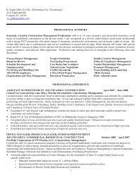 resume for r  ulann gibbs construction mgt  f no phone nos