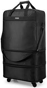 <b>Hanke</b> Expandable Foldable <b>Suitcase Luggage Rolling</b> Travel <b>Bag</b> ...