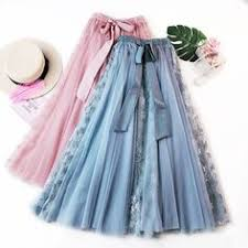 New <b>Style</b> Mesh Skirt 2019 <b>Summer</b> Korean-<b>Style</b> L <b>Women</b> Lace ...