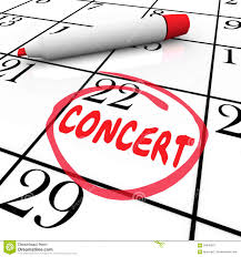 recital word invitation dance music concert performance ticket p concert calendar reminder schedule singing music performance eve royalty stock photography