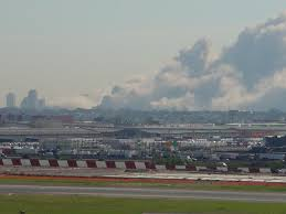 11th on emaze faa air traffic controller larry sandes takes this photograph of newark airport s deserted runways the afternoon of 11 2001