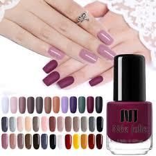 <b>NEE JOLIE</b> 3.5ml Matte <b>Nail Polish</b> Fast Dry Red Grey Color Series ...
