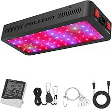 Phlizon <b>600W</b> LED Plant <b>Grow Light</b>,with Thermometer Humidity ...
