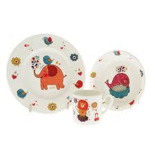 <b>Набор детской посуды</b> Top Art Studio Забавный зоопарк 3 ...