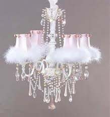 pink shabby chic pink chandelier pink