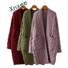 <b>Xnxee</b> 2019 spring Korean thick <b>sweater</b> coat fashion casual female ...