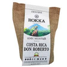 <b>Кофе</b> Rokka <b>Коста Рика</b> 100% Арабика <b>молотый</b> 200 гр - купить в ...