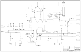 piping  amp  instrumentation diagram  p amp id  process flow systemspiping and instrumentation diagrams  p amp ids  use specific symbols to show the connectivity of equipment  sensors  and valves in a control system
