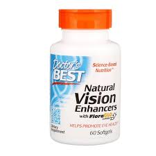 Doctor's Best, <b>Natural Vision Enhancers, with</b> FloraGlo Lutein, 60 ...