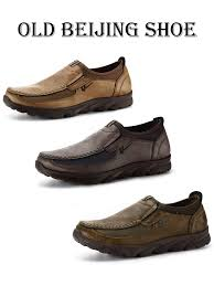 <b>Men Mens Casual Leather</b> Driving Shoes <b>Breathable</b> Antiskid Slip ...