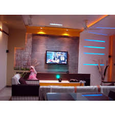 residential interior designing complete solutions living living room furniture pune